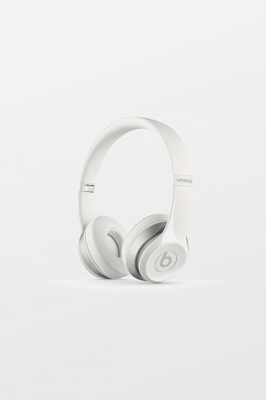Beats By Dr Dre Solo2 Wired On-Ear Headphones - White - Refurbished
