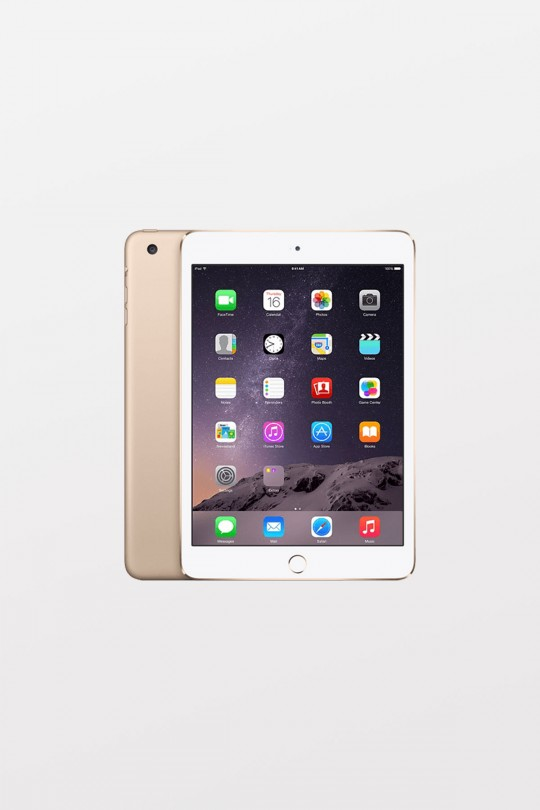 EOL Apple iPad mini 4 Retina Wi-Fi + Cellular 16GB - Gold