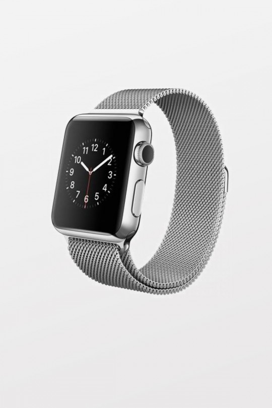 Apple Watch 38mm - Stainless Steel - Silver Milanese Loop - Refurbished