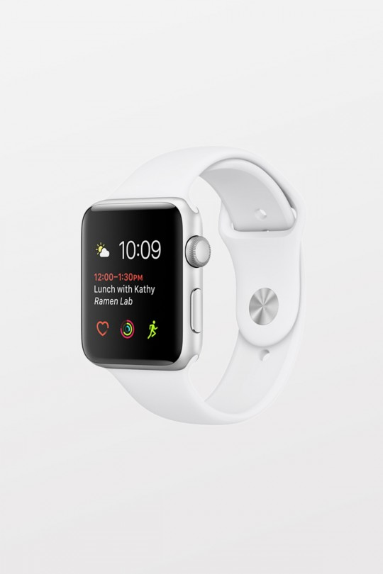 Apple Watch Sport 42mm - Silver Aluminium - White Sport Band - Refurbished