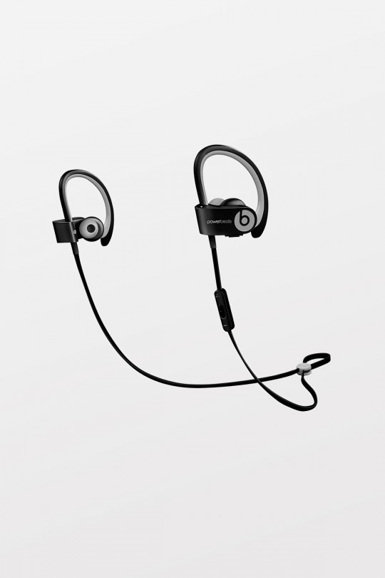 Beats Powerbeats2 Wireless In-Ear Headphones - Black Sport - Refurbished