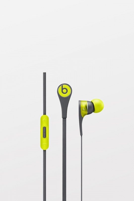 Beats Tour2 In Ear Headphones Active collection - Shock Yellow - Refurbished