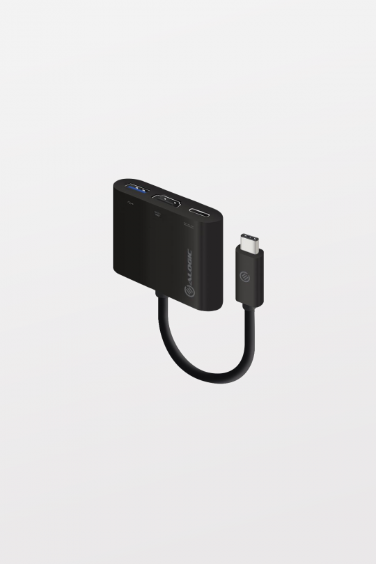 ALOGIC USB-C to HDMI/USB 3.0/USB-C Adapter - 4K - 10cm