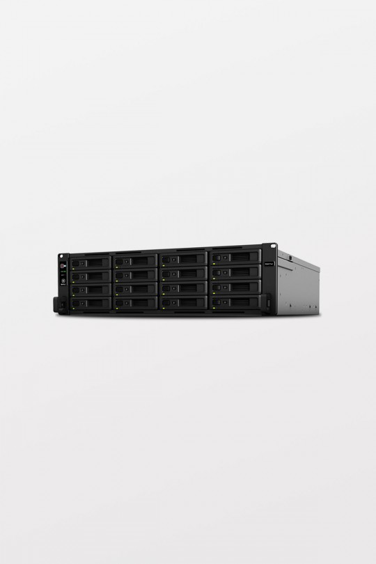 Synology RS4017xs+ 16 Bay 3U 2.1GHz Eight core Xeon D-1541 / 8GB ECC PCIe x 2, Dual PSU, 2 x 10GbE RJ45