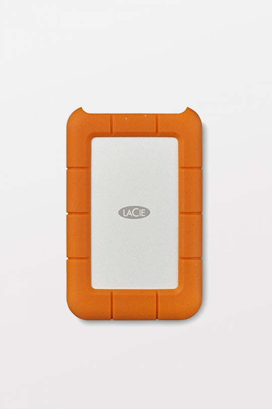 LaCie Rugged Mobile USB Type-C Hard Drive - 2TB