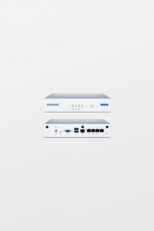 Sophos XG105 Firewall Appliance with EnterpriseProtect, 3-year (AU power cord)