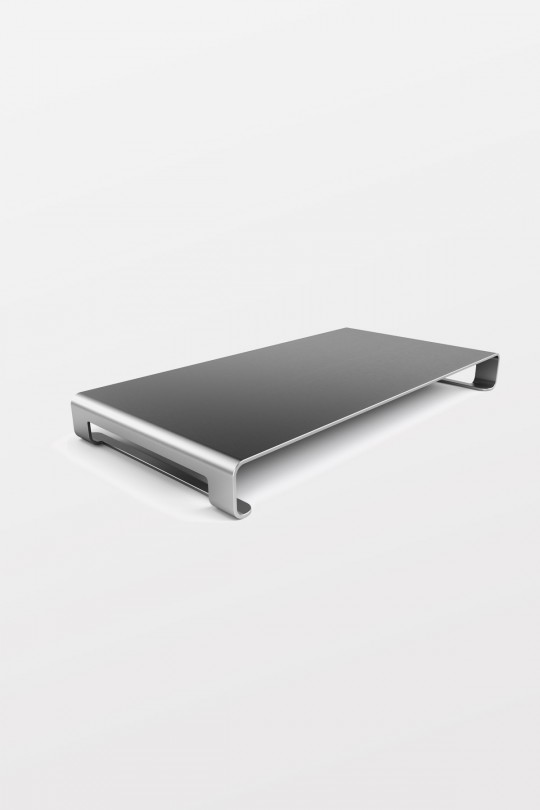 SATECHI Slim Aluminium Monitor Stand - Space Grey
