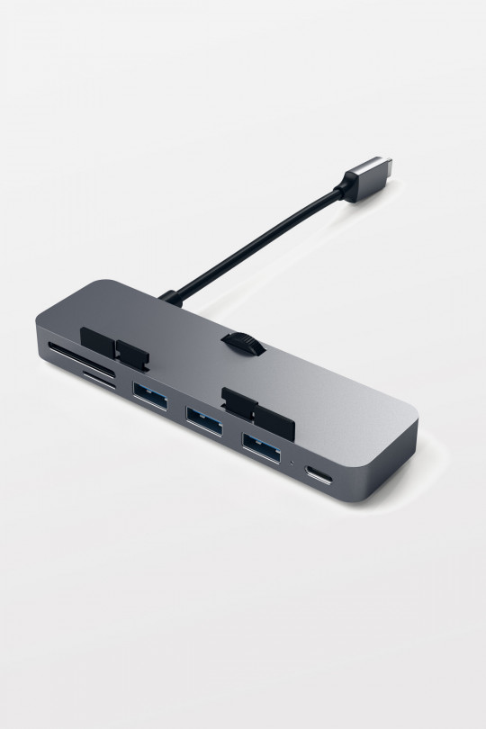 Satechi USB-C Clamp Hub Pro for iMac and iMac Pro -Space Grey