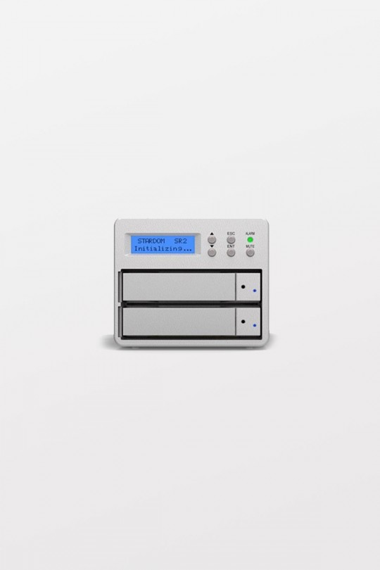 Stardom SR2-SB3+ Desktop HDD 6TB x 2
