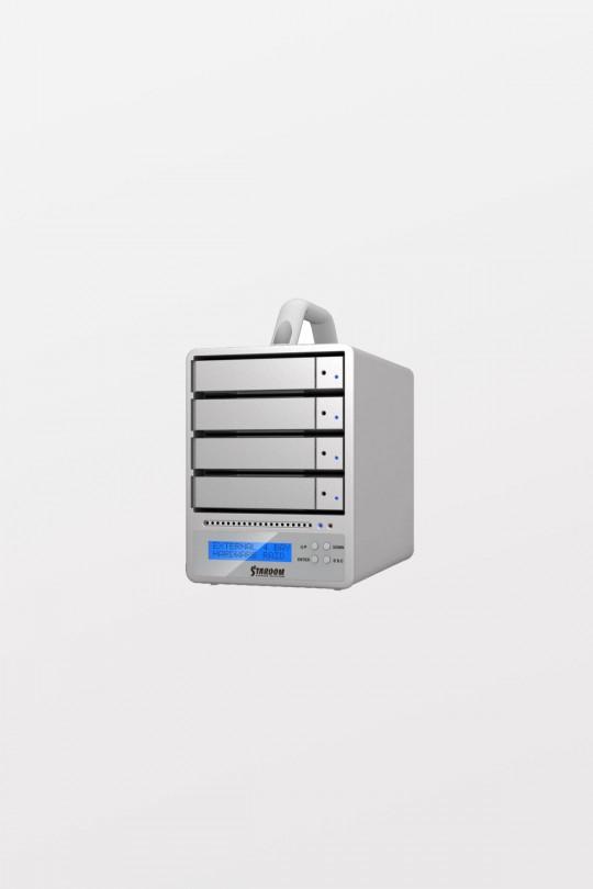 Stardom SR4-WBS3+ Desktop HDD 3YR 10TB x 4