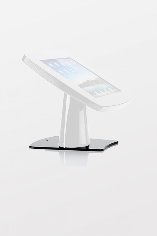 Tryten iPad Kiosk Base Plate - Black