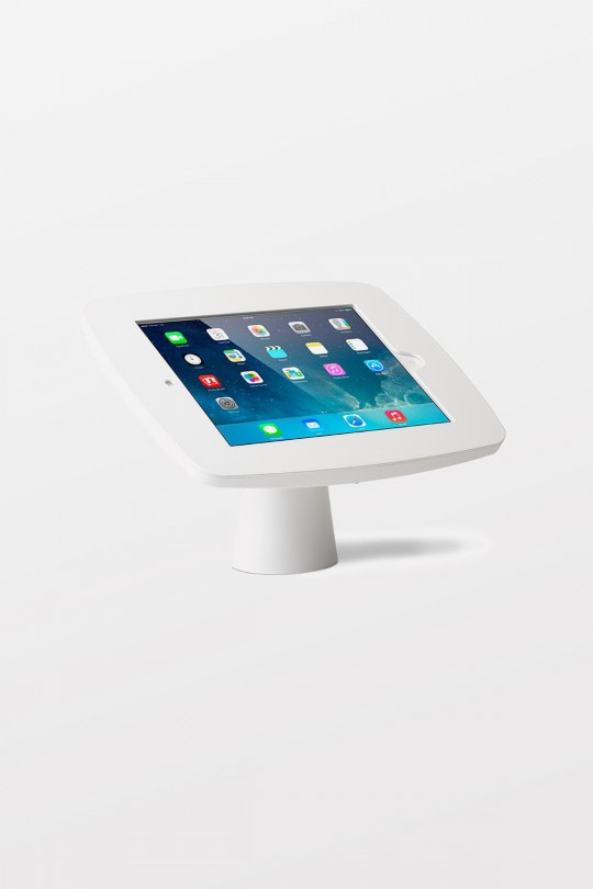 Tryten iPad Kiosk (White / White Faceplate / Home Button Access) for iPad Air/Air 2/Pro 9.7