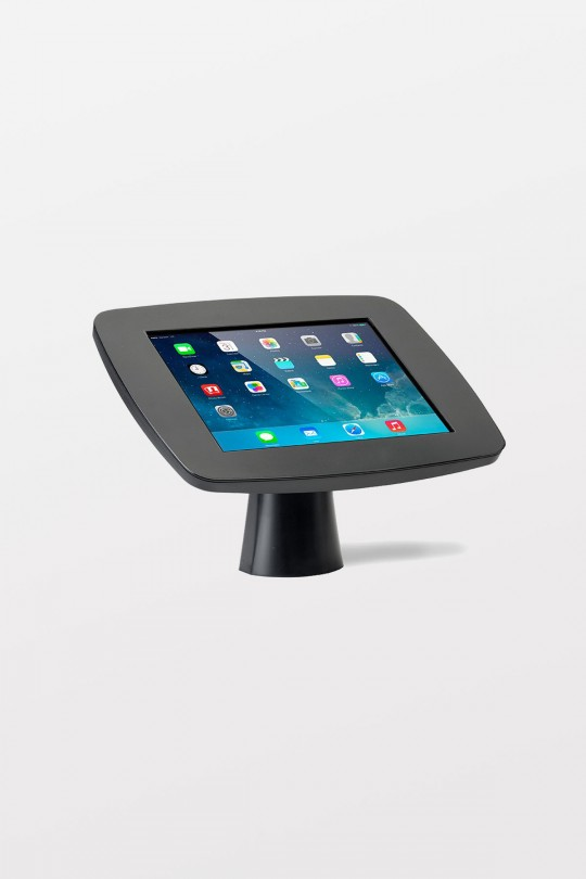 Tryten iPad Kiosk (Black body / Black Faceplate / No Home Button access)