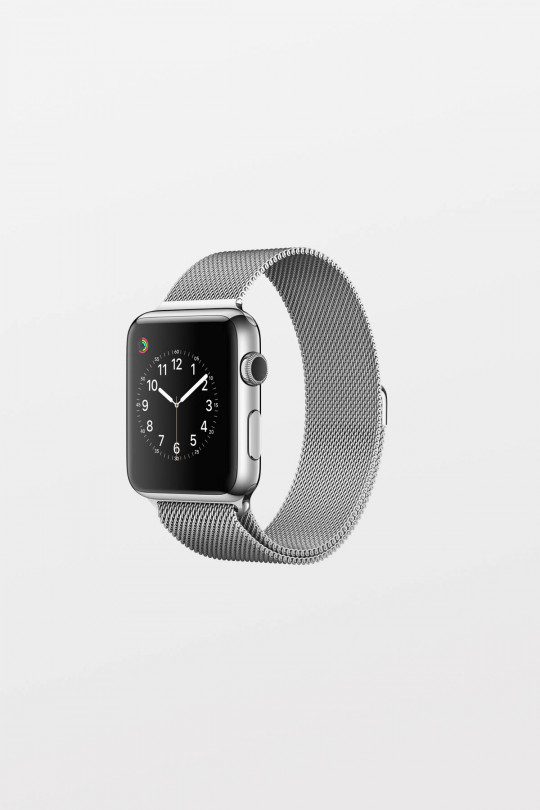 Apple Watch 42mm -  Polished Stainless Steel Milanese Loop