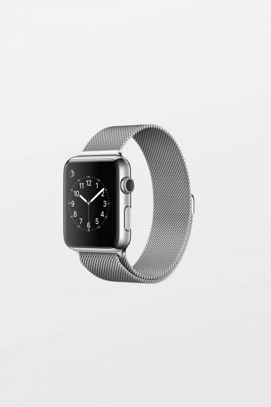 Apple Watch 42mm -  Polished Stainless Steel Milanese Loop