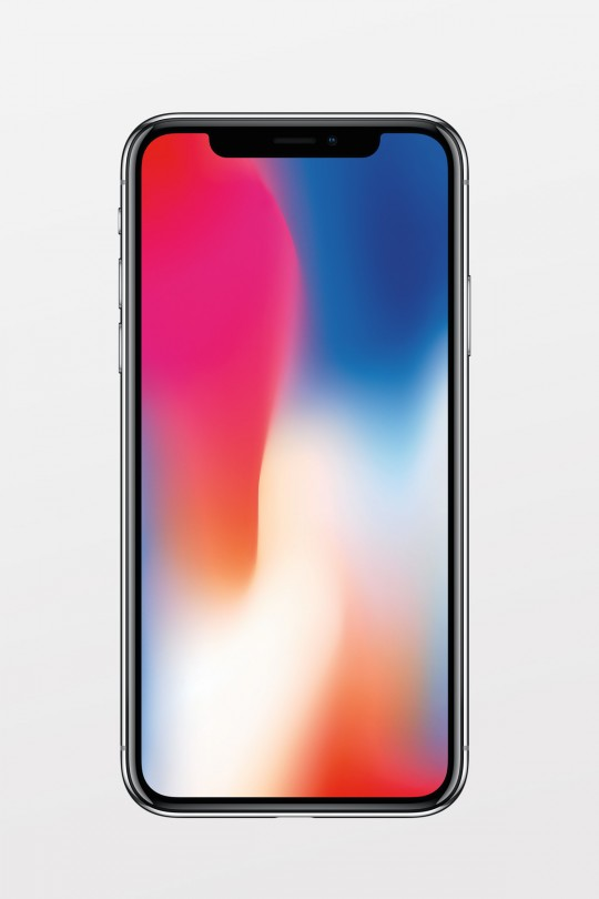Apple iPhone X 256GB - Silver- Refurbished