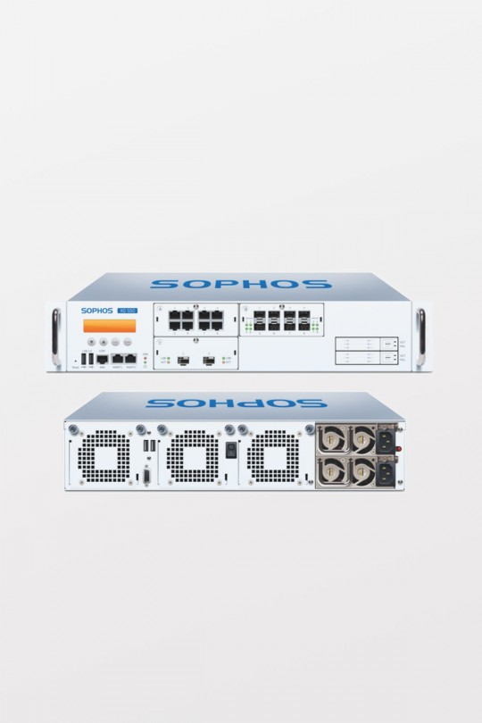 Sophos XG550 TotalProtect, 3-year (Appliance+FullGuard+Enh Sup.)